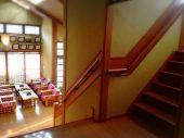 一階、二階への階段