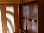 以前のお住まいで使われていた作り付けの建具は、その職人の手によって生まれ変わりました。