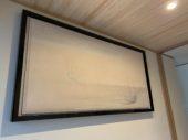 この住宅の為に作られた挾土秀平さんの作品「キラメキ」